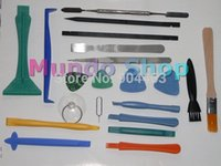 Wholesale New in Opening Tools Repair Tools Phone Disassemble Tools set Kit Spudger Scraper for iPhone iPad HTC Cell Phone Tablet PC