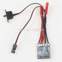 batteries brake - RC ESC A Brushed Motor Speed Controller for Car Boat Tank With Brake control inverter