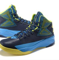 athletes shoes - 2016 New cool Stephen Curry Deep Blue Green Basketball Shoes High Qulity cool outdoor sport sale cheap quick shippping athlete top sale