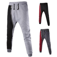 Wholesale MEN Women Casual Jogger Dance Harem Sport Pants Baggy Slacks Trousers Sweatpants