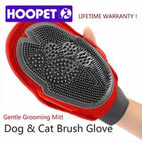 big bubble bath - HOOPET Cat Pet Dog fur Grooming Groom Glove Mitt Brush Comb Massage Bath Brand New big dog wash tool Bubble maker SI