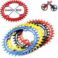 bicycle chainrings - MTB Ultralight T T T BCB chainwheel MTB bicycle Narrow wide Oval Round chainrings A7075 Alloy bike circular crankset