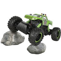 Wholesale Powerful Remote Control Truck Rock Crawler x4 Drive Monster Wheels Green