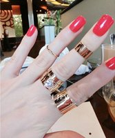 asian euro - Alloy Ring Euro Fashion Gold Plated Alloy Punk Lord Opening Ring Combination sets Nails Rings