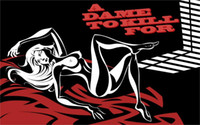 art comic book - 24X36 INCH ART SILK POSTER Painting a dame to kill for comic book frank miller sin city Home Decoration Canvas Poster Print