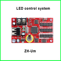 area systems - 5V ZH Um USB port controller card display screen led module control system Multi area Display Asynchronous lighting controllers