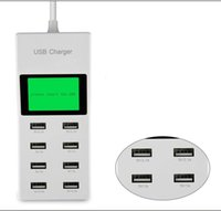 ac socket with usb - New Port Portable SMART USB Hub Wall Charger AC Power Adapter EU Plug Slots Charging Extension Socket Outlet With Switcher