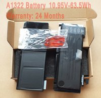 Wholesale Brand New V Wh A1322 Battery For Macbook Pro Unibody quot A1278