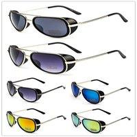 beam box - 2017 new hot fashion Iron Man dual beam sunglass retro men sunglasses box sunglasses colorful sunglasses B0208