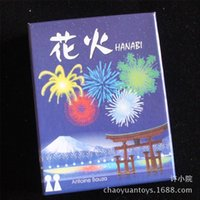 Wholesale Hanabi player Cooperative board game German QCF family party educational game kids funny paper board games