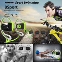 Wireless Cell Phones Stereo Bluetooth Sport Headphones Original Brand Jabees BSport BT4.0 Headset Wireless Waterproof Swimming Earphone Earbuds audifonos