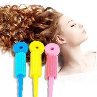 Wholesale 3 pack Hair Care Magic Sponge Soft Hair Curler Hair Styling Hair Roll Rollers DIY Tools for Women