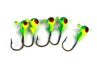 Wholesale DHL New pack Jig Lead Fishing Lure Metal Head Hooks Fishing Tackle CM G OZ jy792