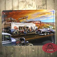 ad art signs - 8X12 METAL Art Wall Decor Retro Tin Sign Poster Ad sticker route gas B