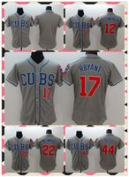 anthony products - New Product Men Chicago Cubs Baseball Jersey Kyle Schwarber Kris Bryant Jason Heyward Anthony Rizzo Grey Stitched Jerseys