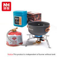 Wholesale NH High Quality Outdoor Picnic Stove Super Light Weight Split Foliding Portable Fuel Saving Stainless Steel Camping Stoves