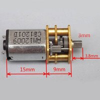 Wholesale DC V Micro Electric Reduction Metal Gear Motor for RC Car robot model DIY engine Toys House Appliance parts VE508 P