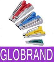 al por mayor bies de tela-nuevo de alta calidad de la tela del trébol Bias Tape Maker Encuadernación 18mm Juego de herramientas Herramienta Máquina de coser acolchar GLO116 venta caliente