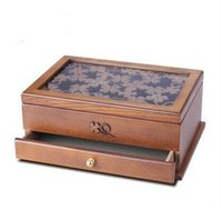 Wholesale Jewelry boxes jewelry boxes hand jewelry boxes of Chinese style wooden antique Europe type restoring ancient ways
