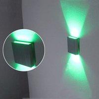 al por mayor wecus light-Lámpara de la escalera del LED, rejillas de la esquina del LED, luz de fondo, fuente del haz de luz 2/4, AC85-265V 3W, WECUS-0016