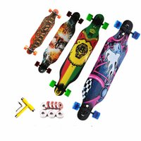 Wholesale Adult men and women outdoor sports skateboard high quality Four wheels skateboards Longboard
