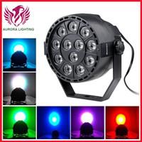 Wholesale HOT SALE Mini LED Par Light RGB Stage Light Magic Effect DMX512 Disco Stage Lighting