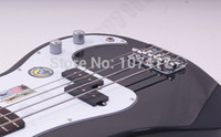 Wholesale 2015 Limited Top Fashion Initiative Adapterization Maple Bass Guitar Guitars Left Handed Guitar He8673a Electric Bass Bassblack