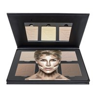 Wholesale 2016 New Arrivals Aesthetica Cosmetics Powder Cream Contour Kit color and Highlighting Makeup Kit Waterproof Foundation Palette