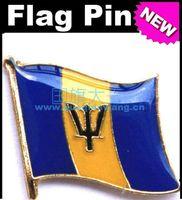barbados flag - Barbados Flag Badge Metal Pin Flag badge country flag badges military flag badges flag badge pin