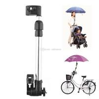 Wholesale Useful Baby Buggy Pram Stroller Umbrella Holder Mount Stand Handle Black L00096 OSTH