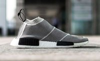 Wholesale NMD City Sock Runner PK High Men s Women s shoes Classic Cheap Fashion Sport Shoes With the Boxes