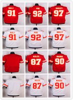 Wholesale Men s Kansas and City Chiefs Allen Bailey Elite White Dontari Poe Elite Red Tamba Hali Elite White Jersey