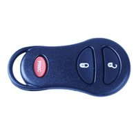 Wholesale 3 Buttons Keyless Remote Fob Key Car Shell Key Case For Chrysler Dodge Jeep Buttons Panic