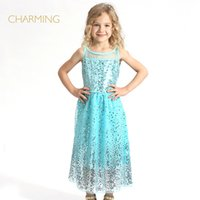 designer brand childrens clothes - Brand new lace childrens dress Designer children clothing Quality printed round neck sleeveless dress Best suppliers from china