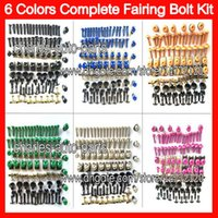 triumph - 6Colors Fit ALL bikes Fairing bolts full screw kit For HONDA KAWASAKI SUZUKI YAMAHA DUCATI BMW TRIUMPH Agusta Aprilia Body Nuts bolt screws