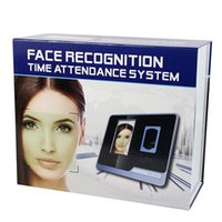 attendance time clocks - Fingerprint Face ID Card Recognition Large Capacity Biometric Attendance Machine Time Clock Recorder F6155A