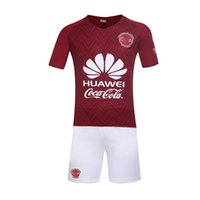 Wholesale 16 no brands america home and away soccer sets logos style soccer uniforms factory product free DHL shipping