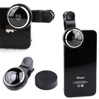 advance mobile - Universal More Advanced Mobile Phone Clip Fisheye Lens Fish Eye Lens Degree for iPhone Samsung Sony HTC LG Android Phone