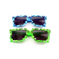adult beach games - New Pixelated Bit Fashion sunglasses Code Programmer Retro Pixelated Video game Party Mosaic grid Square sunglasses color