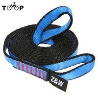 Wholesale 23KN cm Nylon rock Climbing Sling Bearing Strap Reinforce Rope belt Load bearing Bandlet Mountaineering equipment