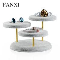 big earring holder - FANXI Big Useful Jewelry Display Holder Ring Bracelets Bangle Earrings Display Holder Ice Velvet Jewelry Stand