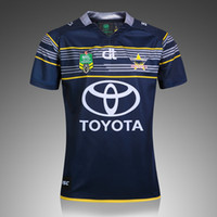 Wholesale best quality super rugby north queensland cowboys rugby jersey Australia super shirt rugby Jersey shirt size S XXL