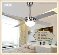 Wholesale New Ceiling lamp modern minimalist fashion fan lights illuminated ceiling fans living room dining