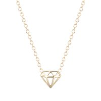 animal cutout - 10pcs Simple Gold Silver Plated Layering Necklace Dainty Everyday Cutout Triangle Cone Necklace for Women
