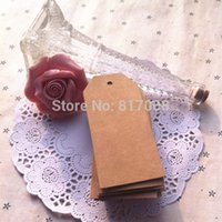 Wholesale CM DIY Scrapbooking Paper Kraft Blank Hang Tags Crafts Postcards Wedding Gift Label Card