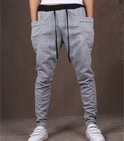 Wholesale Cool Design Moletom Men Casual Sweatpants Big Pocket Summer Gym Clothing Army Trousers Hip Hop Harem Pants Mens Joggers Colors