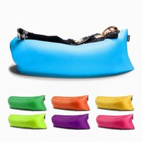 Wholesale Outdoor Inflatable lounger Air sofa Waterproof sleep bag Outdoor or Indoor Activities Hangout as Beanbag or Beach Lounger Air Hammock