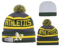 best oakland - Oakland Athletics Baseball Beanies Team Hat Winter Caps Popular Beanie Caps Skull Caps Best Quality Sports Caps Allow Mix Order