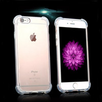 Wholesale Clear Series Air Cushion Shock Absorption Premium Flexible Soft TPU Skin Cover Case for iPhone Plus s SE s Plus Case