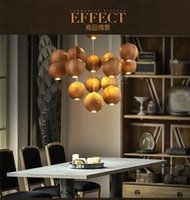 Wholesale native handmade Wooden Chandelier Hanging Pendant Lamp W LED Lamp V
